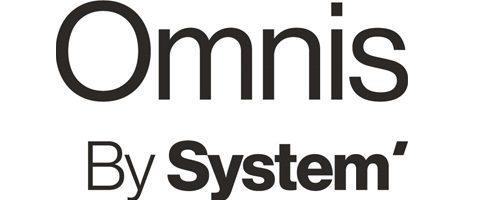 Omnis By System' logo in black font