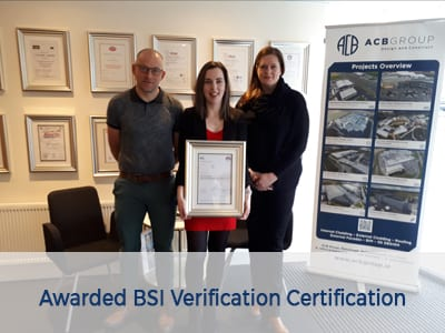 ACB Group team member receives BSI Verification Certification